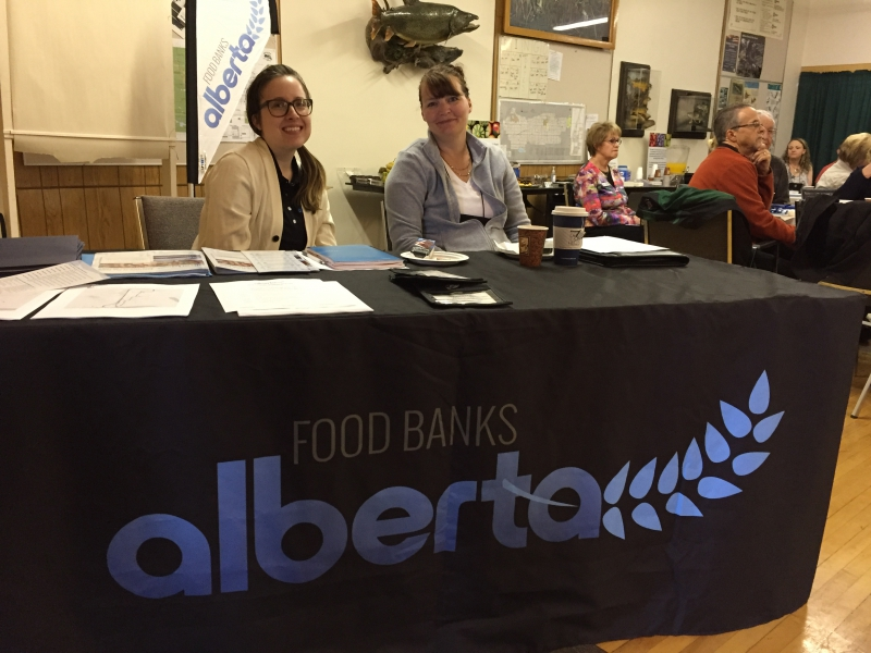 Food Banks Alberta Staff Alison & Jennifer