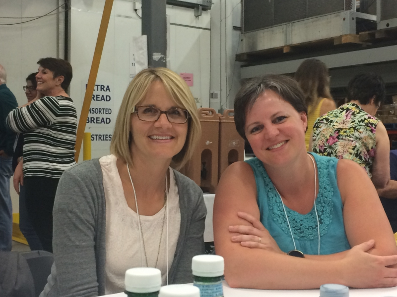 Parkland Food Bank Elena & Sheri