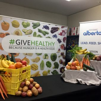 #GiveHealthy online food drive announced in Alberta