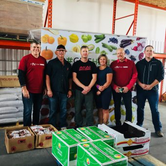 #GiveHealthy food delivery arrives in Alberta