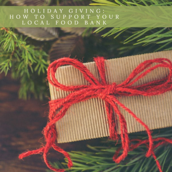 Holiday Giving: Support your local food bank