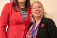 Lori (FBA) and MLA Angela Pitt